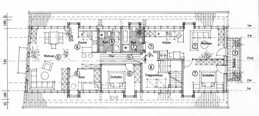 moderner grundriss mehrfamilienhaus alles ber wohndesign und m belideen. Black Bedroom Furniture Sets. Home Design Ideas