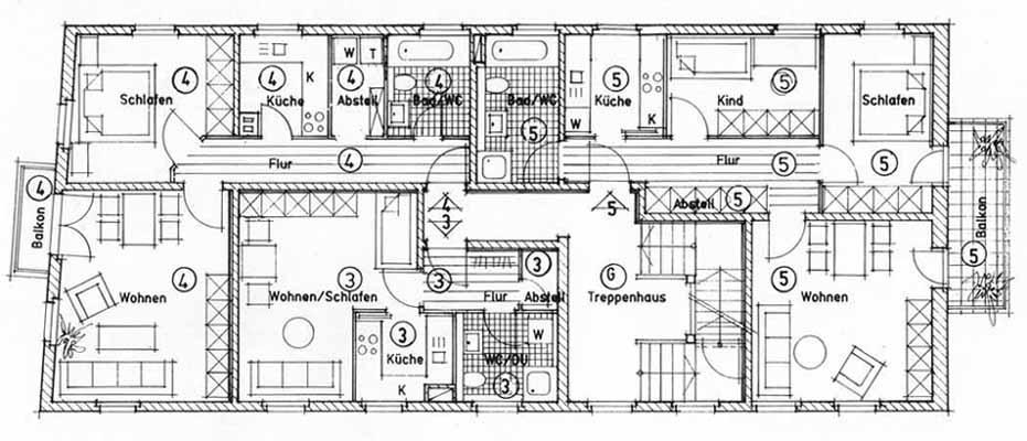 Moderner Grundriss Mehrfamilienhaus ~ Alles über Wohndesign und ...